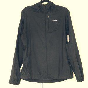 Patagonia black  lightweight windbreaker jacket